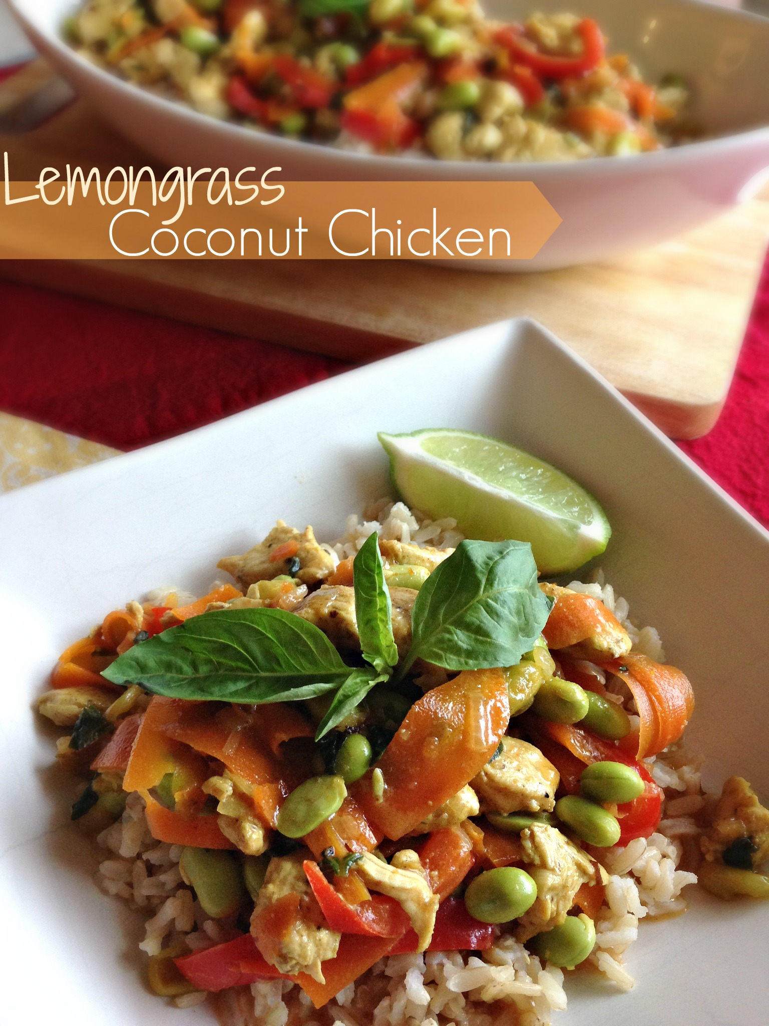 Lemongrass Coconut Chicken