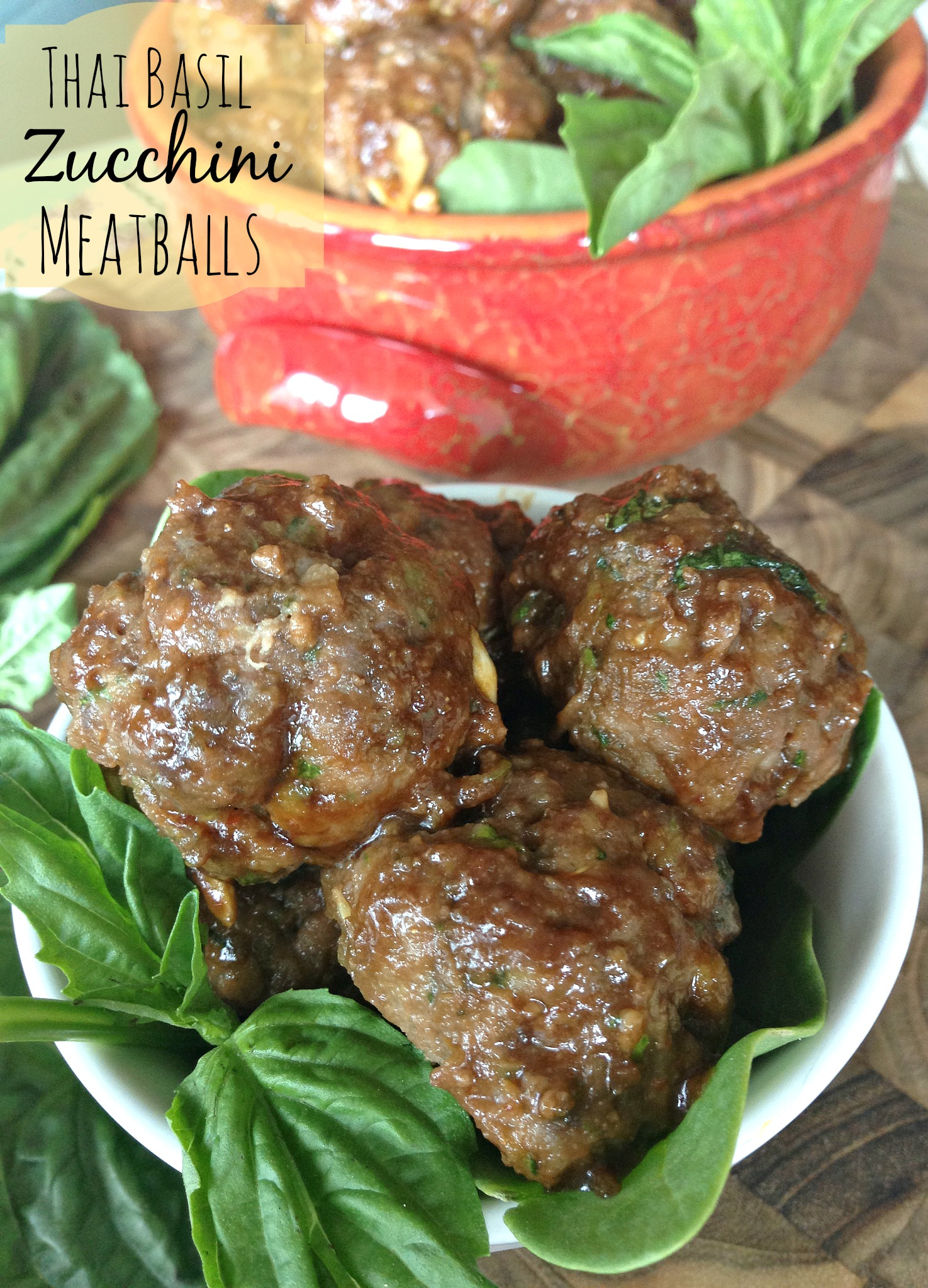 Bite-sized meatballs made with lean ground beef and shredded zucchini ...