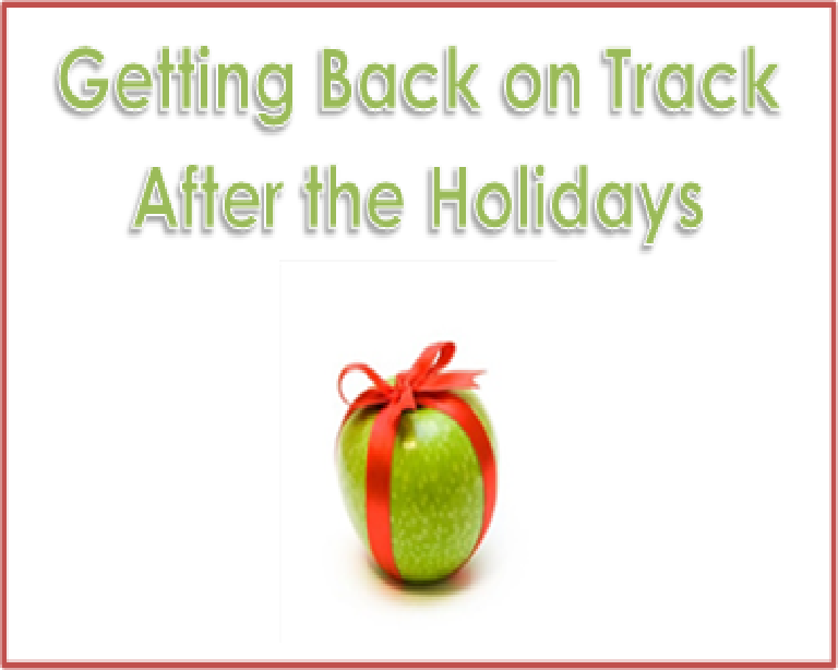 Six Ways to get Back on Track after the Holidays