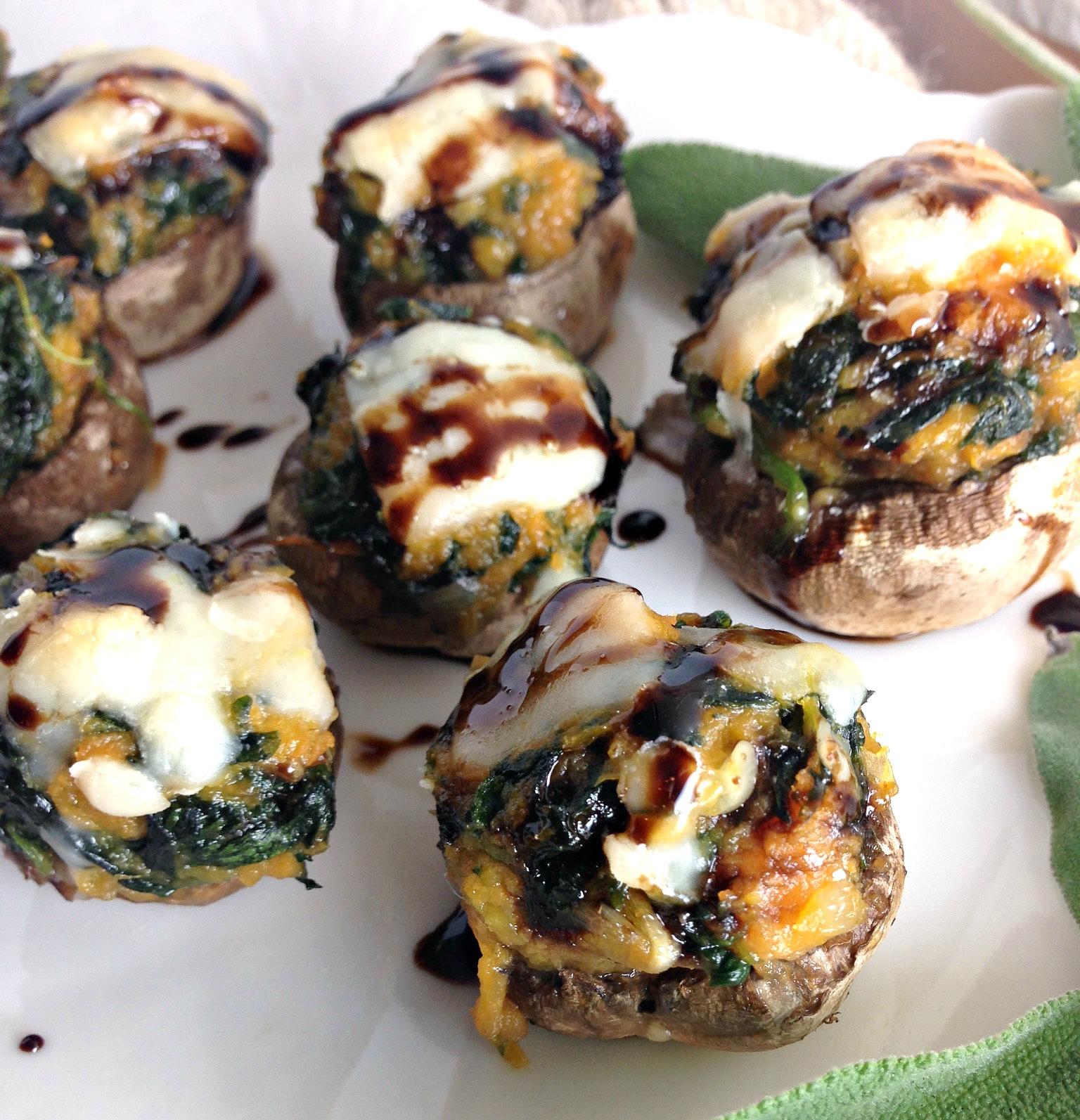 Asian stuffed mushroom recipe