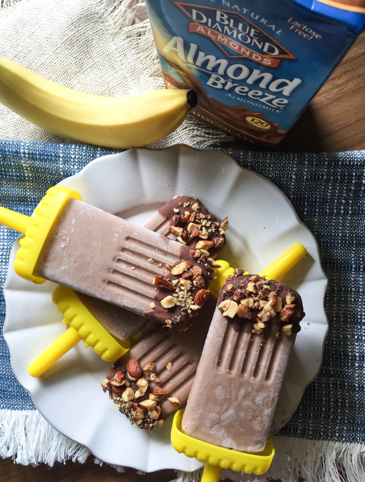 Easy as Breeze Chocolate Ice Pops