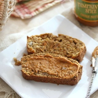Whole Wheat Spiced Apple Walnut Carrot Bread