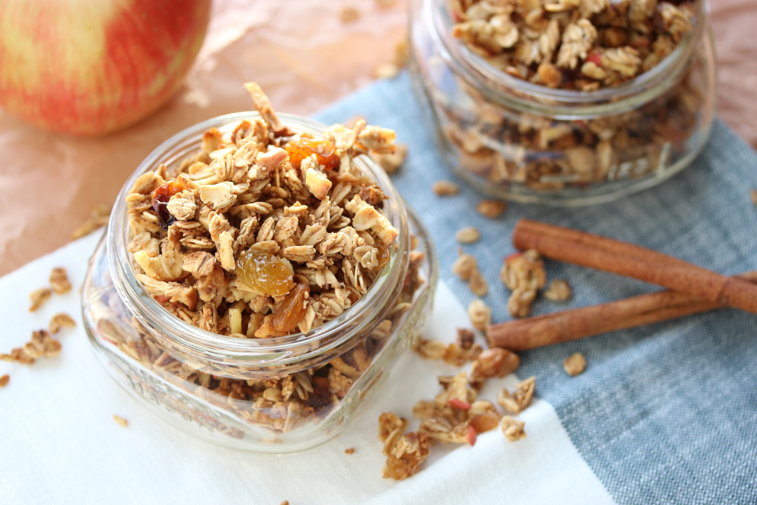 February 2016 Recipes 2016 10 23 Baked Apples With A Spiced Granola >> Apple Walnut Spice Granola Dishing Out Health