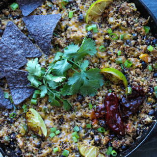 Chipotle Lime Turkey Taco Quinoa Bake