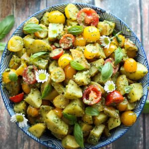 Pesto Roasted Potato Salad