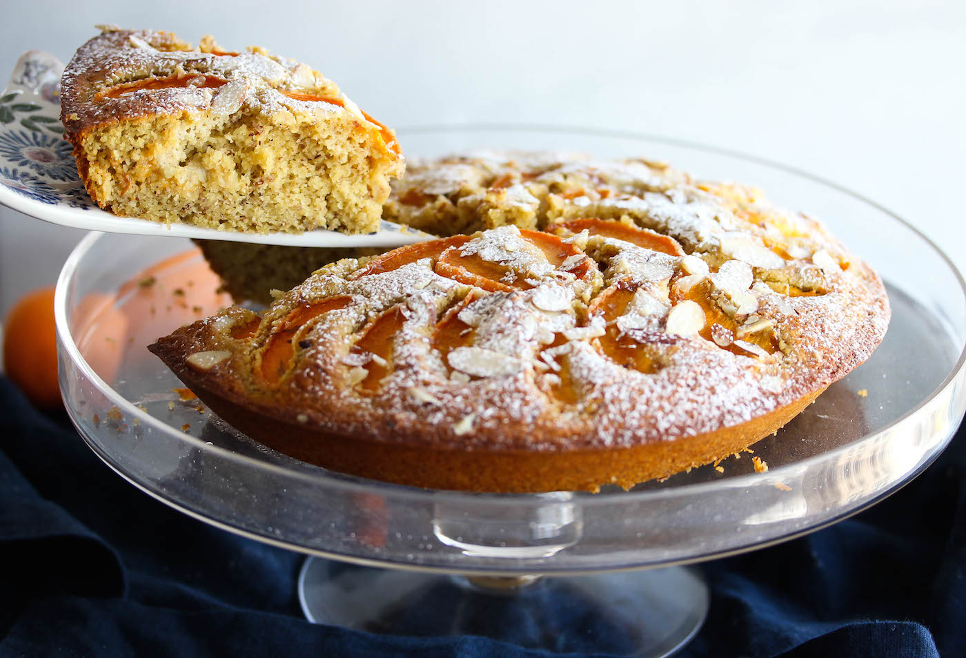 Almond Breakfast Cake Recipe — Dishmaps