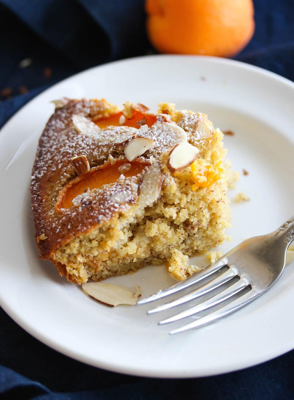 Apricot Almond Breakfast Cake (Gluten-Free)