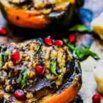 Mushroom and Quinoa Stuffed Acorn Squash