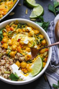 30 Minute Vegan Chickpea Curry