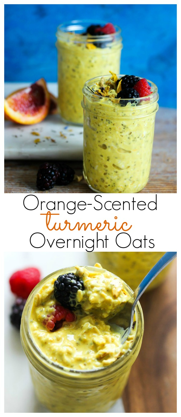 Orange-Scented Turmeric Overnight Oats   dishingouthealth.com
