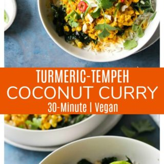 Turmeric-Tempeh Coconut Curry