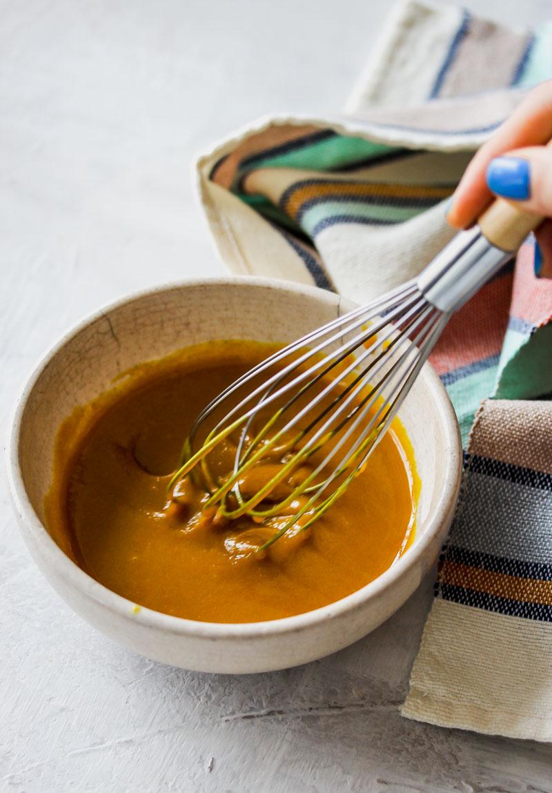 Sweet Potato Grain Bowls with Turmeric Honey Mustard