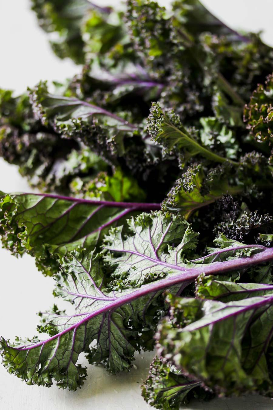 Vegan Kale Caesar with Smoky Tempeh Crumbles
