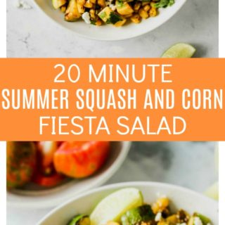 20-Minute Summer Squash and Corn Fiesta Salad