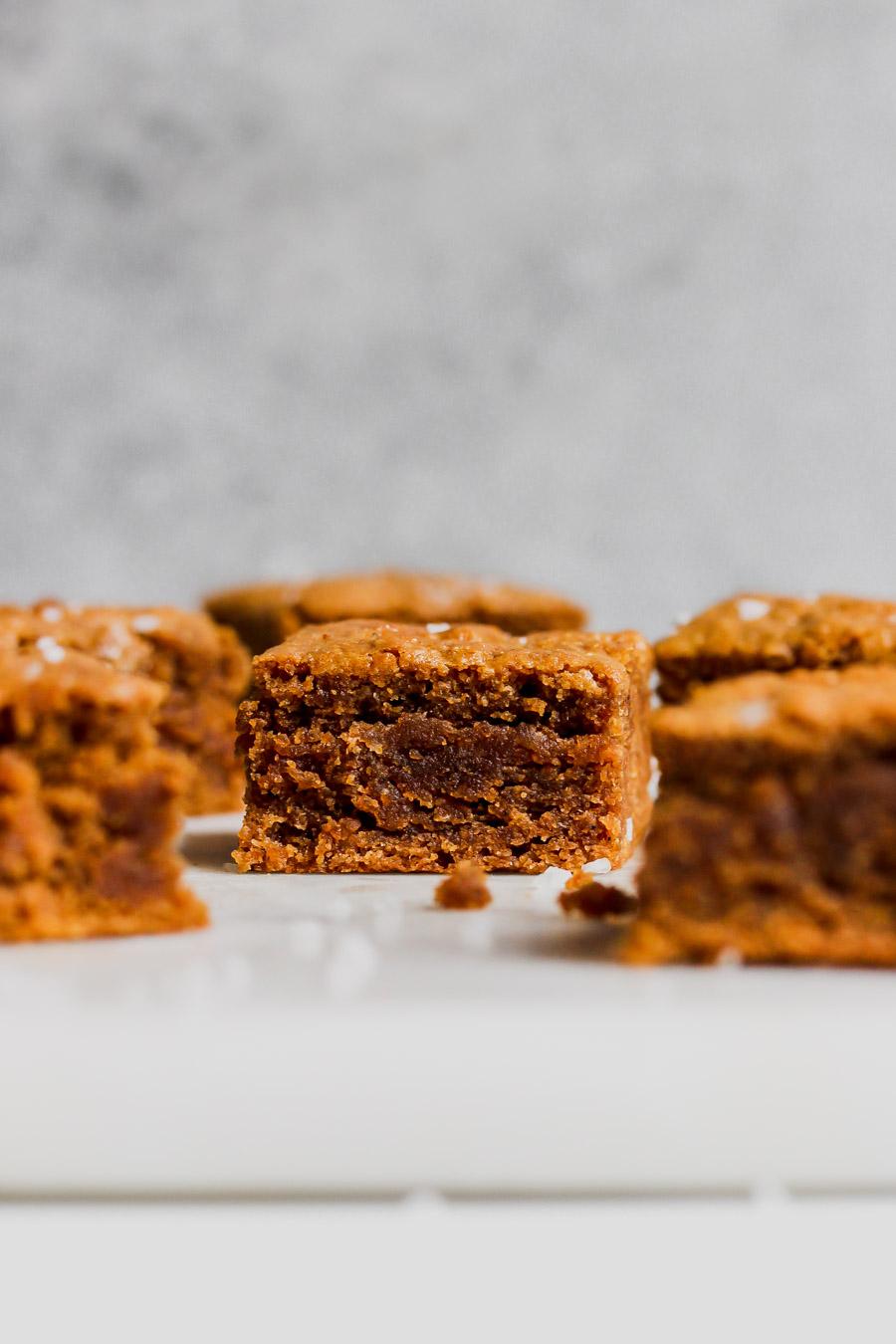 Brown Butter Pumpkin Tahini Bars