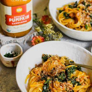 Whole Foods Market Fall Harvest Box Giveaway + Pumpkin Cardamom Pasta