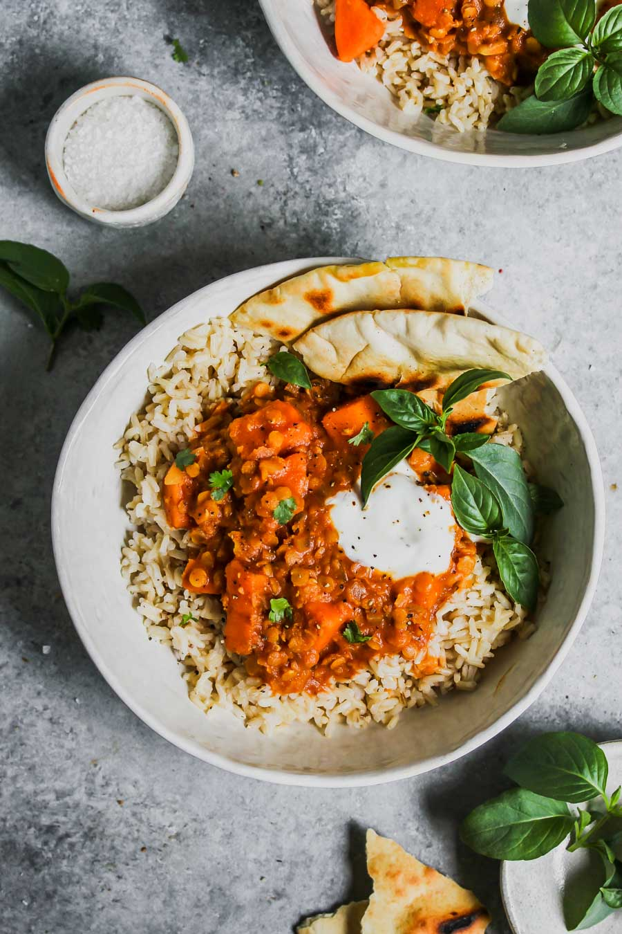 Slow Cooker Sweet Potato and Lentil Tikka Masala (Vegan)