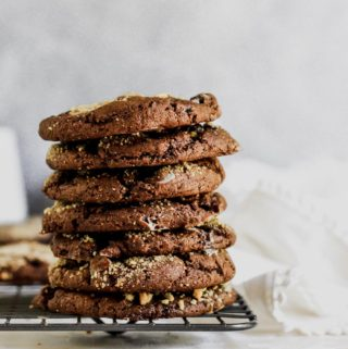 Flourless Almond Butter S'mores Cookies
