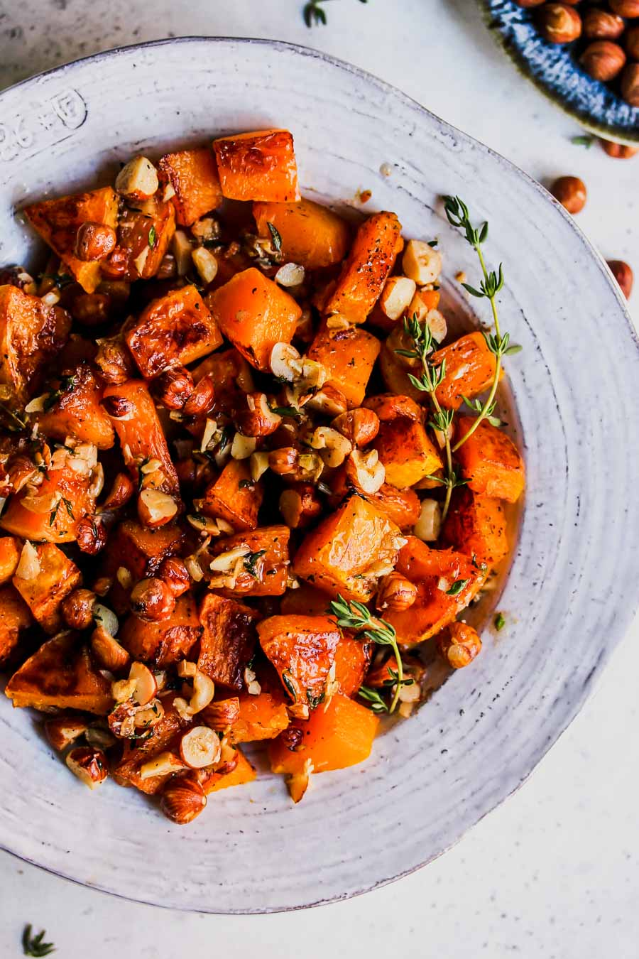 5 Ingredient Butternut Squash with Brown Butter Hazelnuts