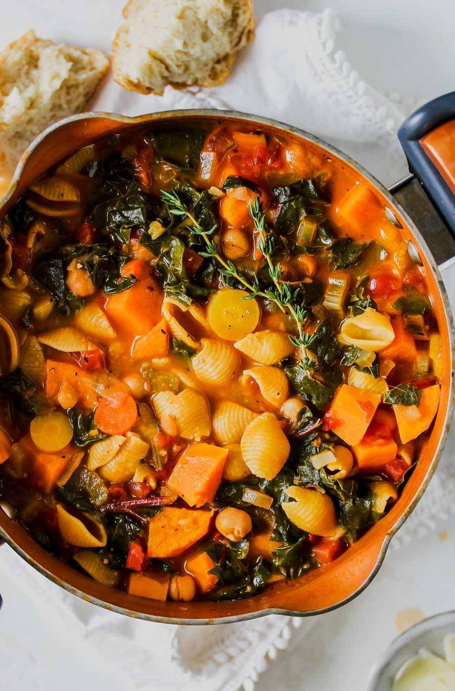 Nourishing Winter Minestrone Soup
