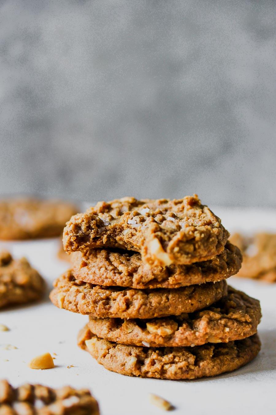 Flourless 5-Ingredient Peanut Butter Cookies