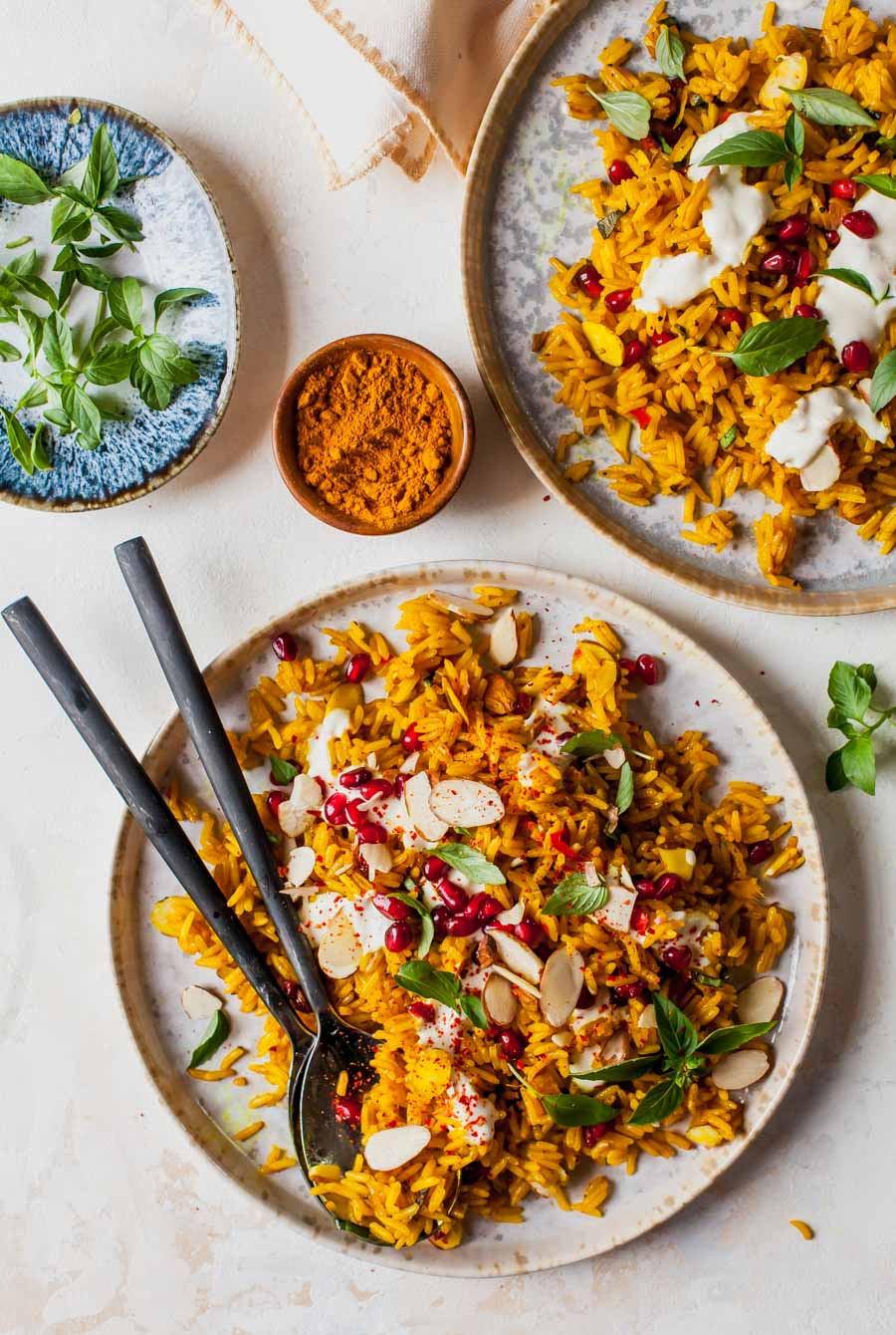 30 Minute Golden Rice Pilaf