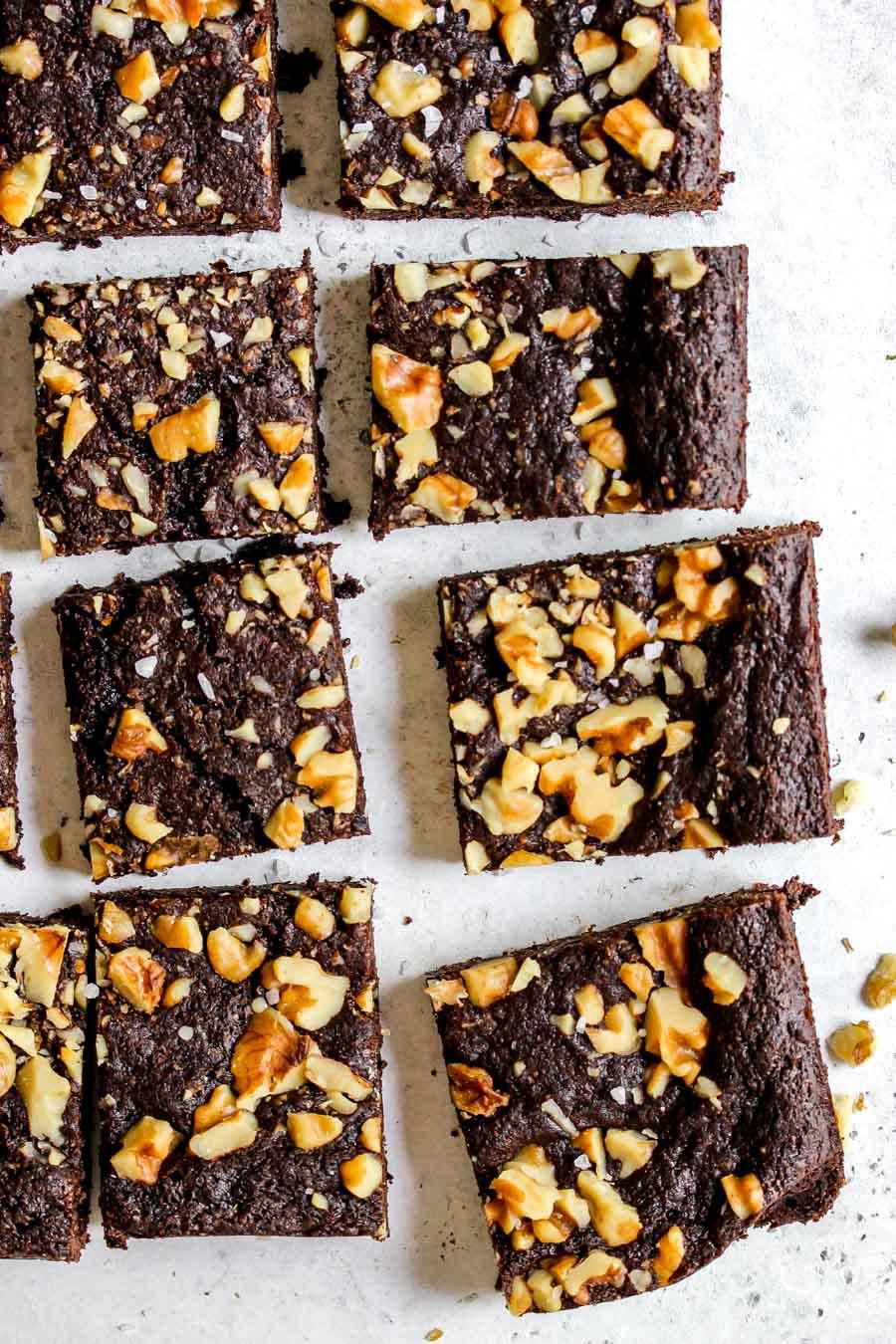 Fudgy Vegan Brownies