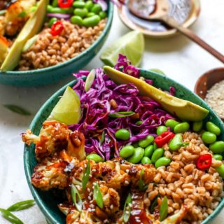 Teriyaki Cauliflower Power Bowls