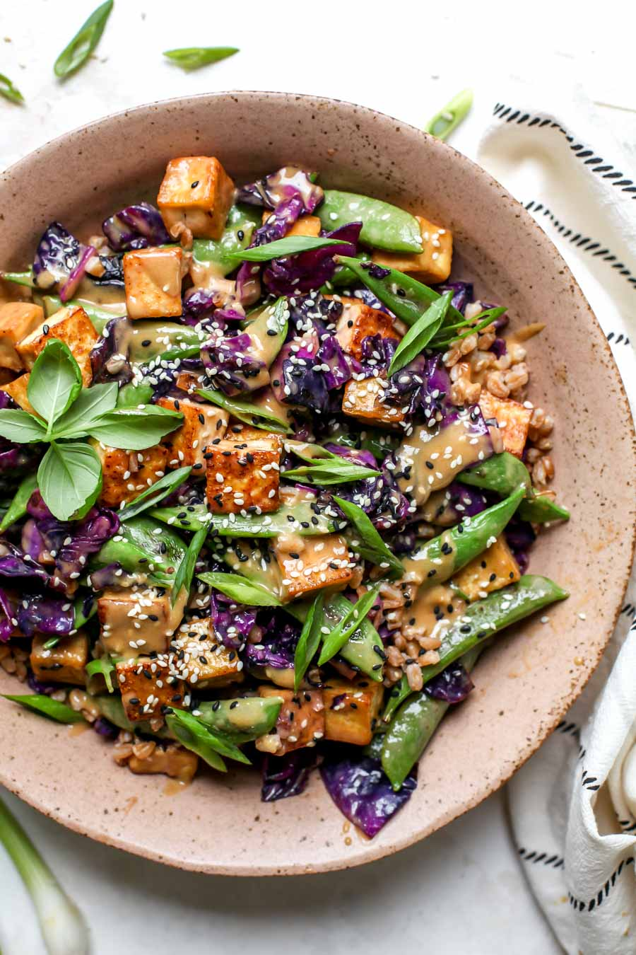 Easy Tofu Dinner or Meal Prep Lunch