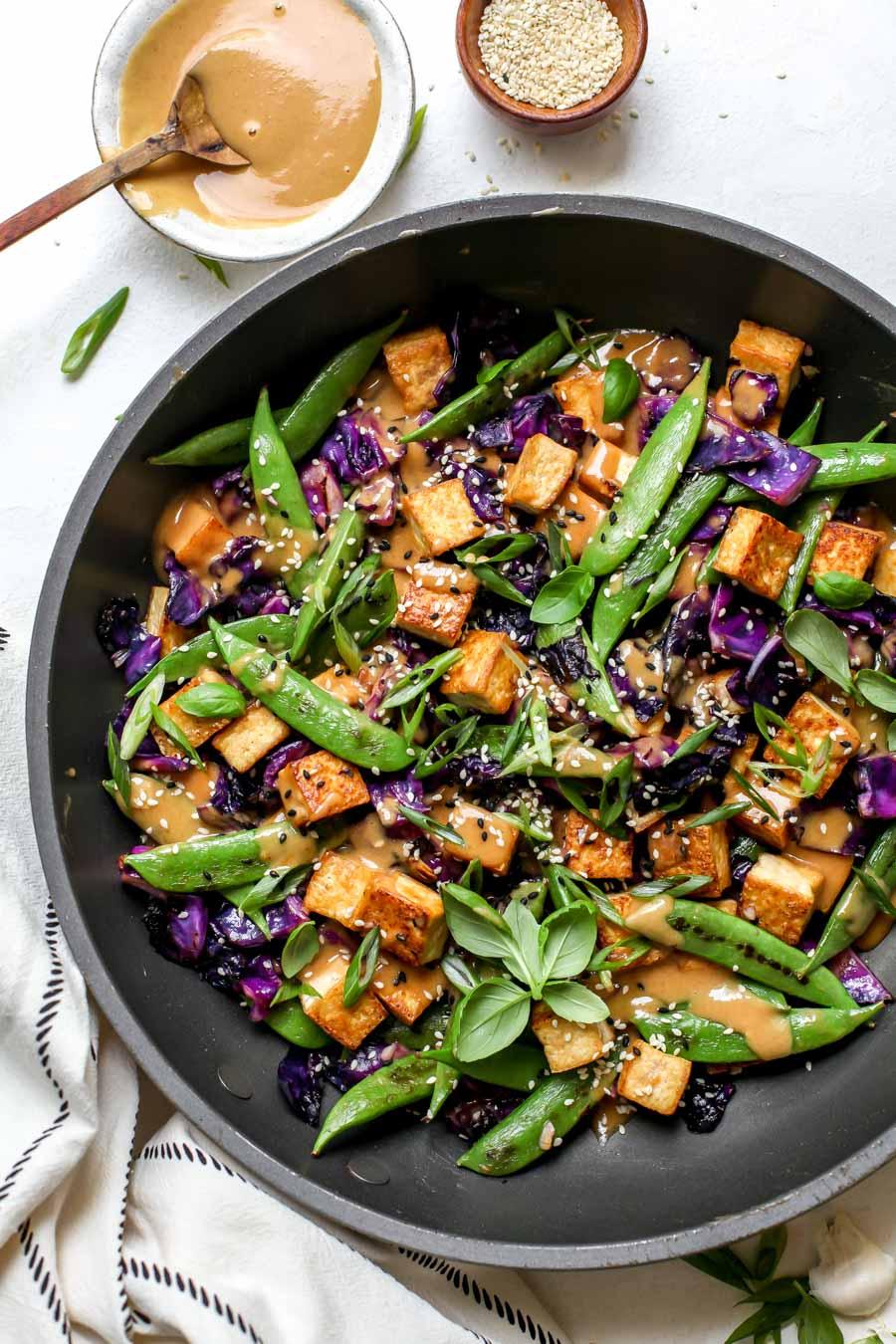 How to Make Vegetarian Stir-Fry
