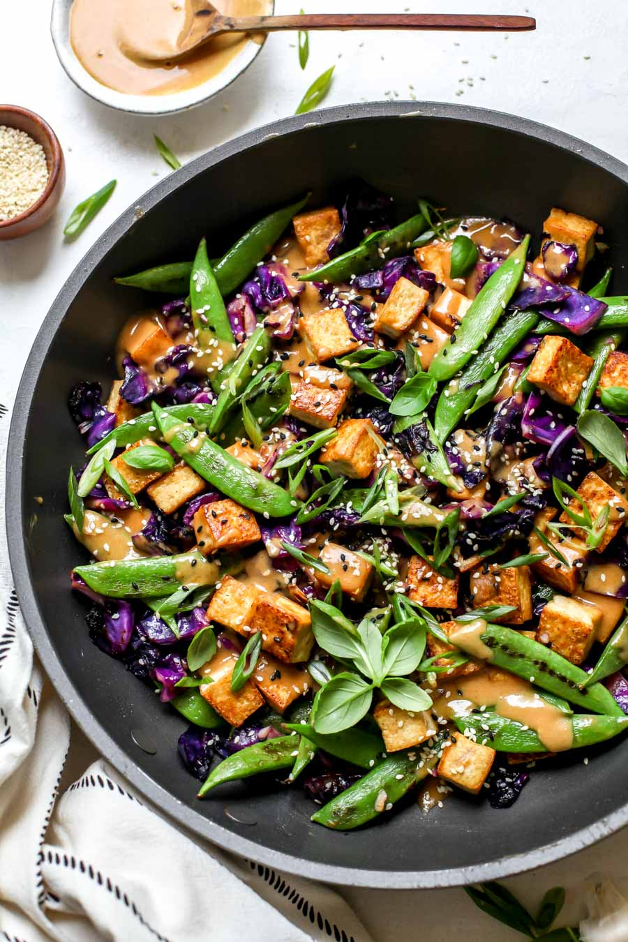 Veg Tofu Stir Fry Recipe Image Of Food Recipe