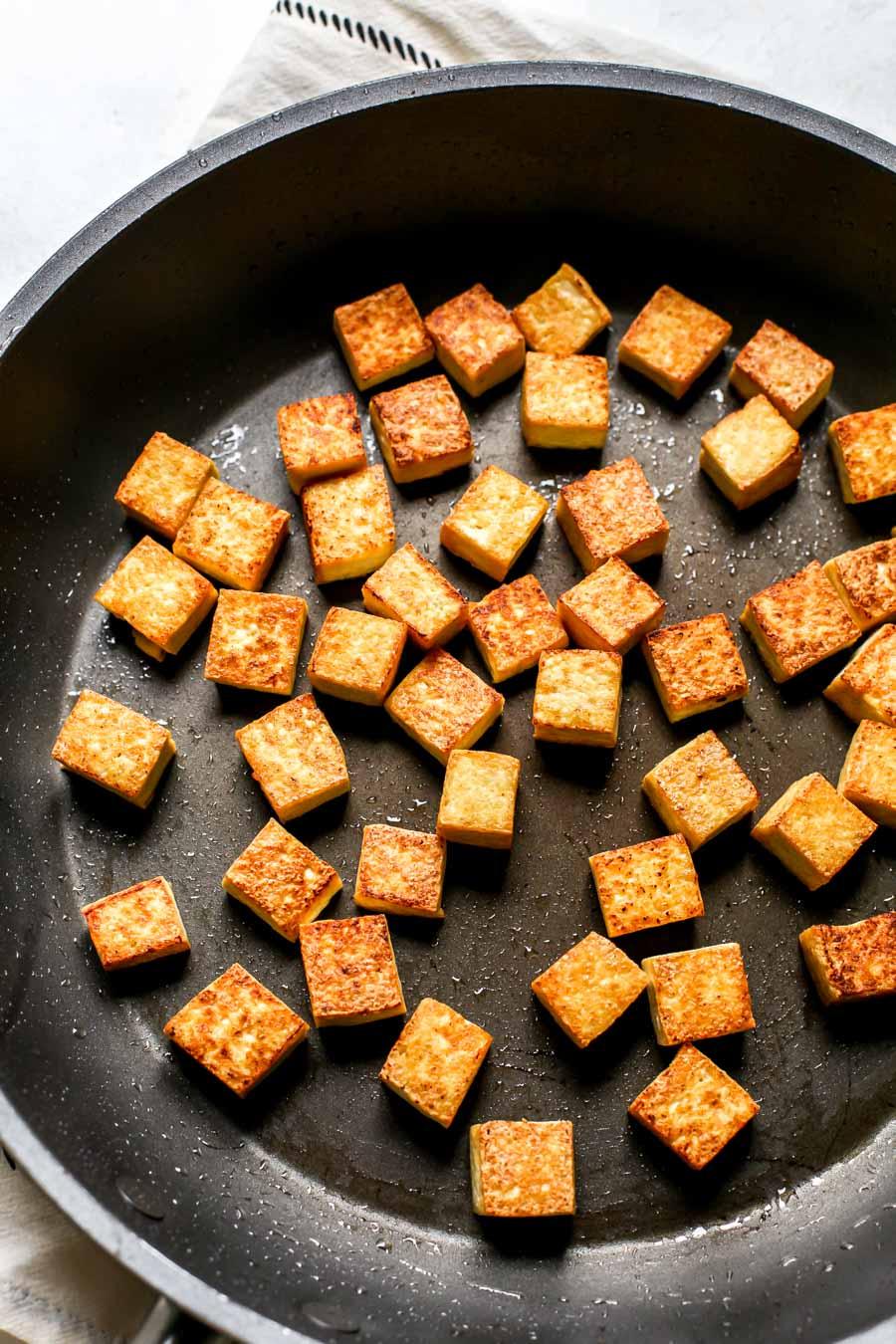 Crispy Sauteed Tofu