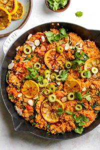One Pot Moroccan Quinoa