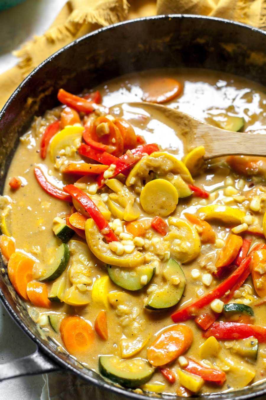 Summer Vegetarian Curry