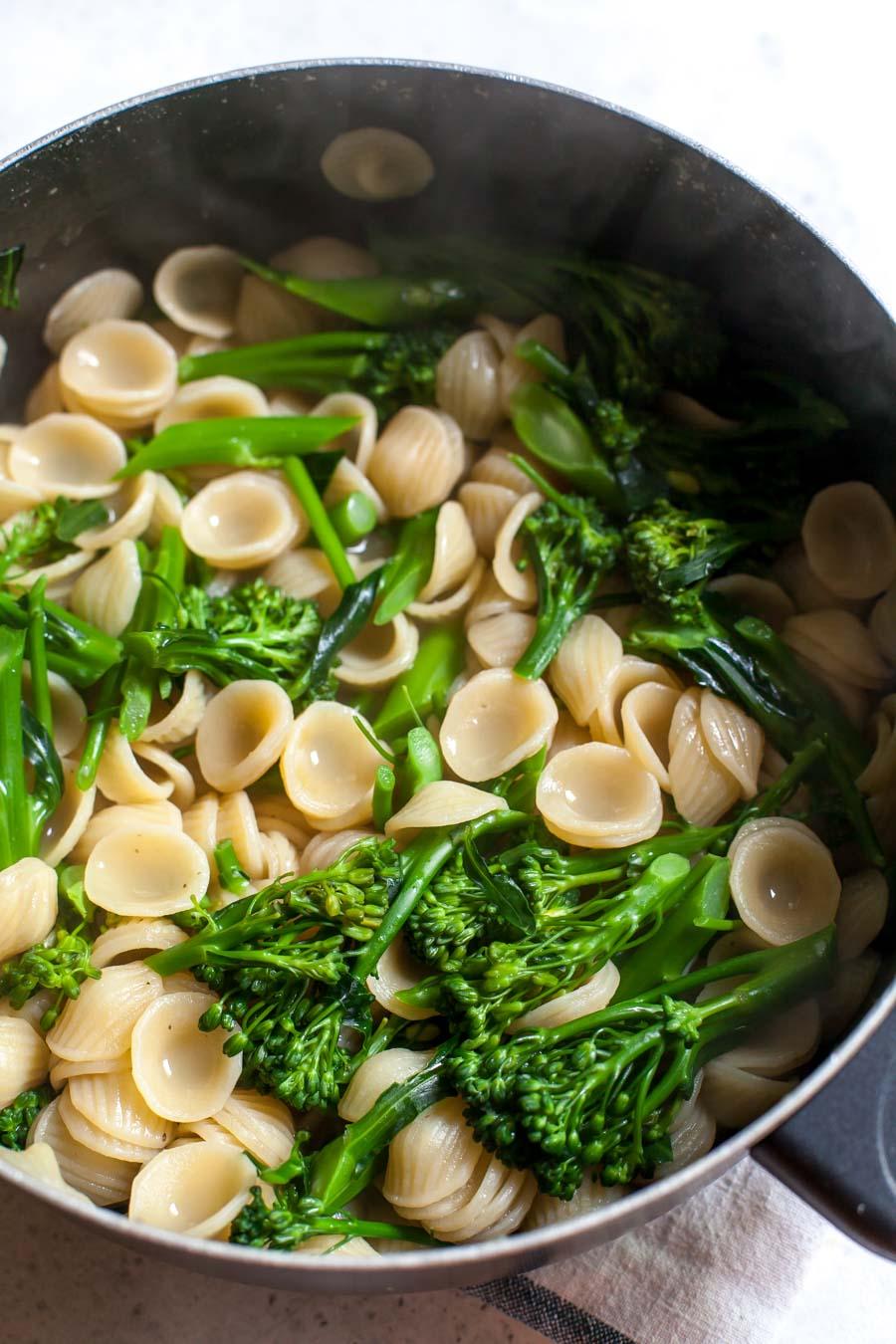 Orecchiette with Baby Broccoli