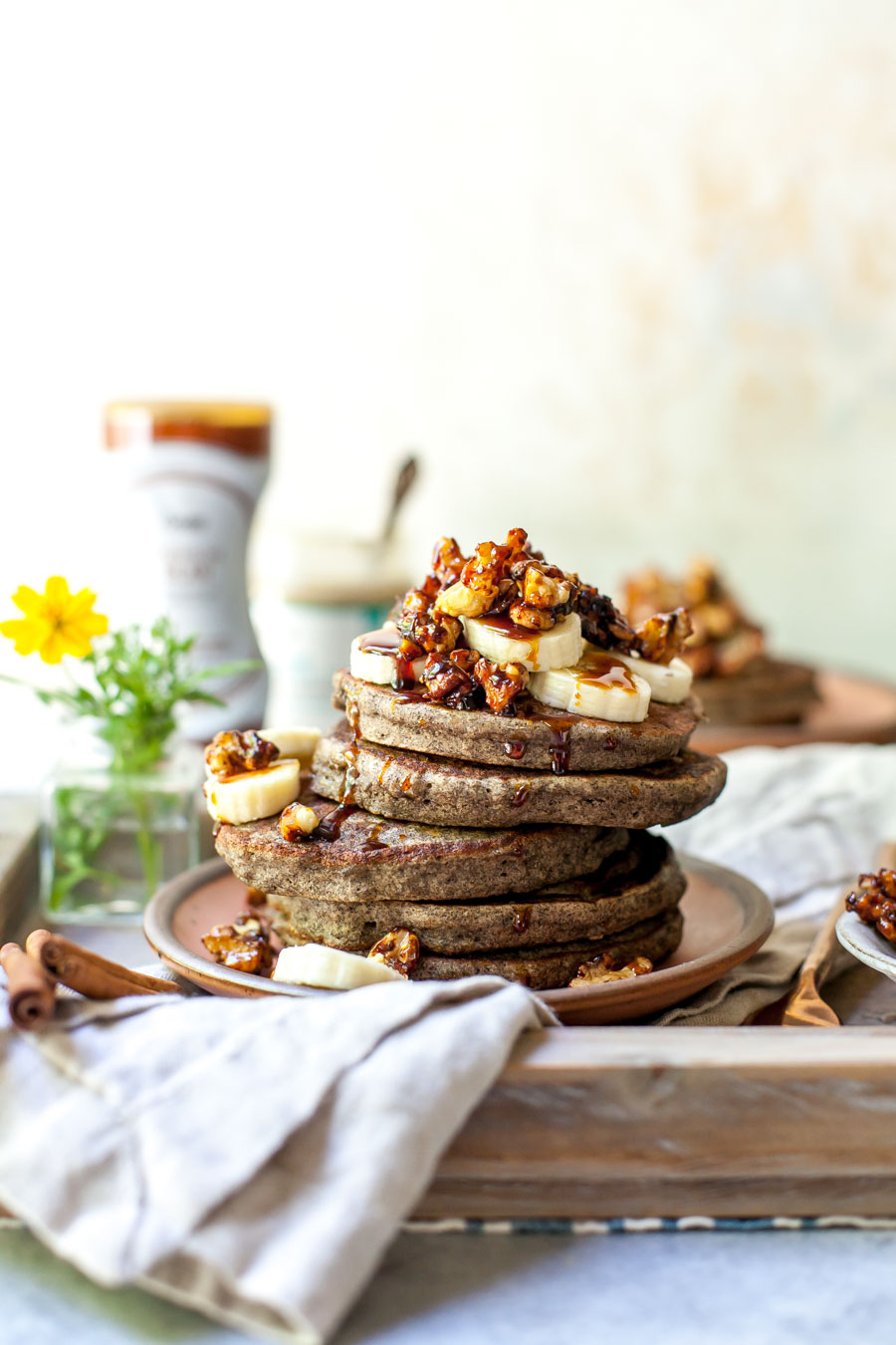 Buckwheat Banana Bread Pancakes Dishing Out Health