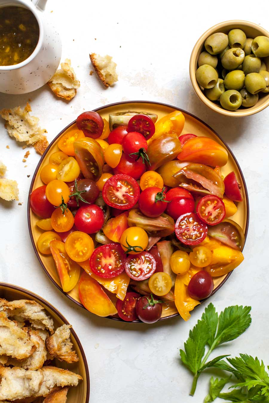 Heirloom and cherry tomatoes