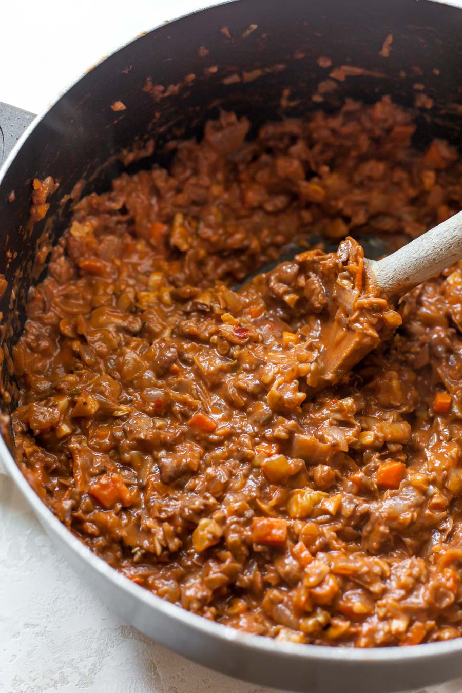Mushroom and Walnut Bolognese Sauce