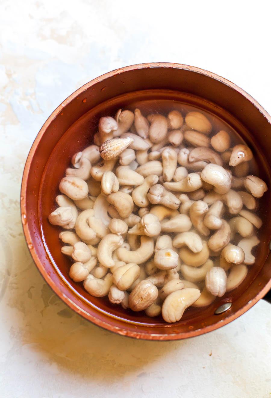 Soaked Raw Cashews