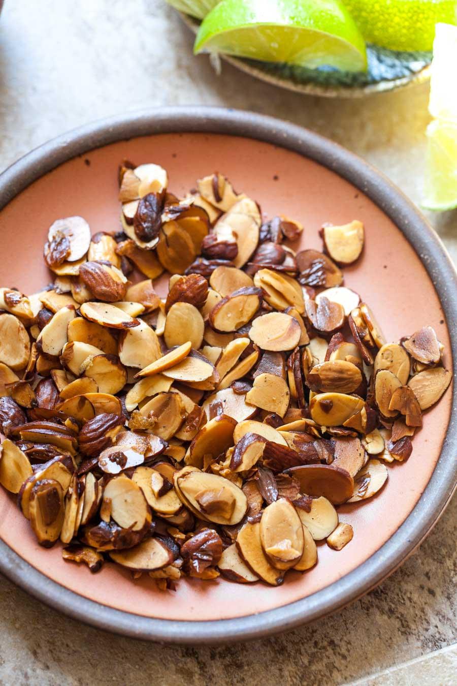 Toasted Garam Masala Almonds