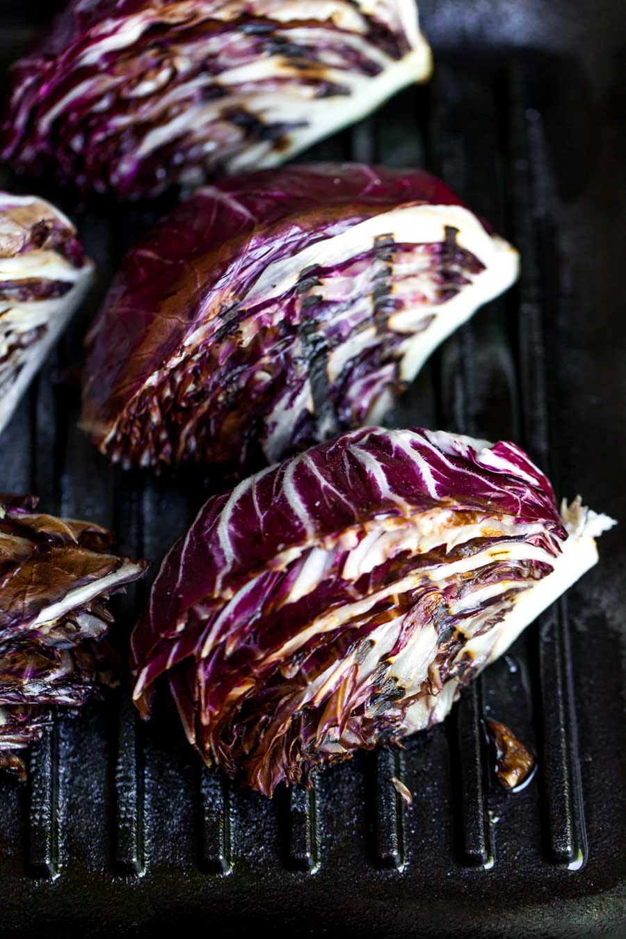 How to Grill Radicchio on Indoor Grill Pan