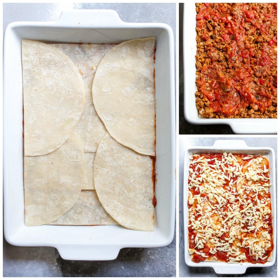 How to Make a Vegetarian Mexican Lasagna
