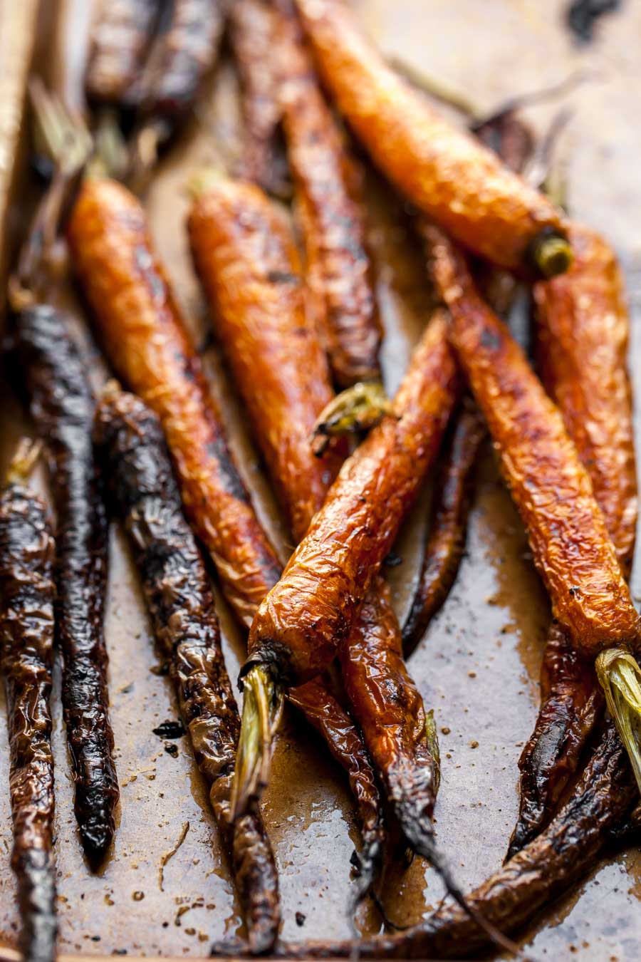 Perfect Roasted Carrots in the Oven