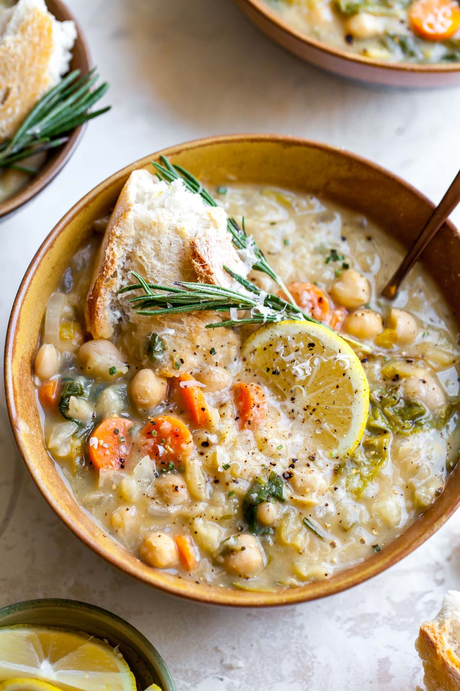 Nourishing White Bean And Lemon Soup Dishing Out Health