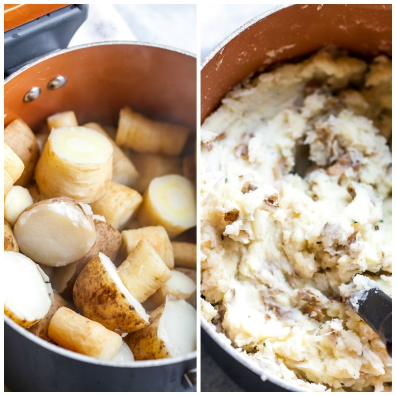 How to Make Mashed Potatoes and Parsnips
