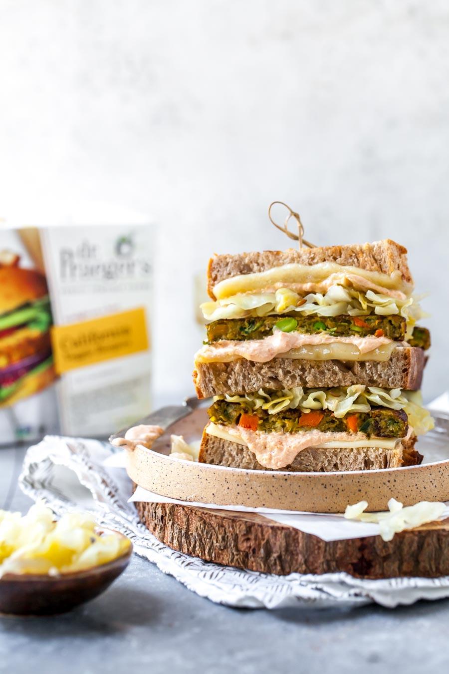 Plant-Based Reuben Sandwich