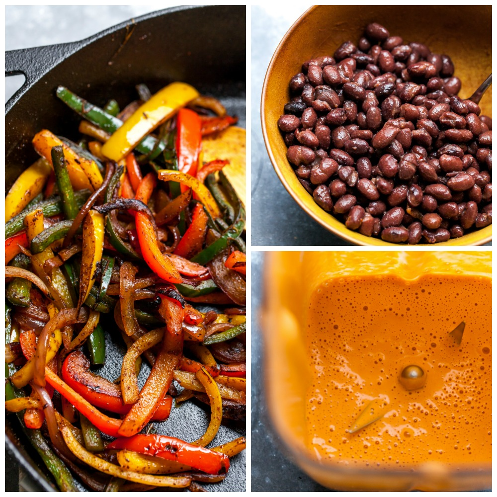 What to Add to Vegetarian Burrito Bowls (Sauteed Veggies, Black Beans, and Vegan Chipotle Sauce)