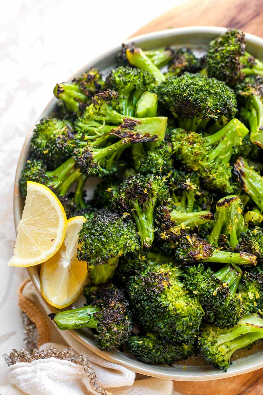 Perfect Sautéed Broccoli Dishing Out