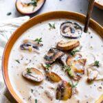 Vegetarian Mushroom Soup Recipe (dairy-free, gluten-free)