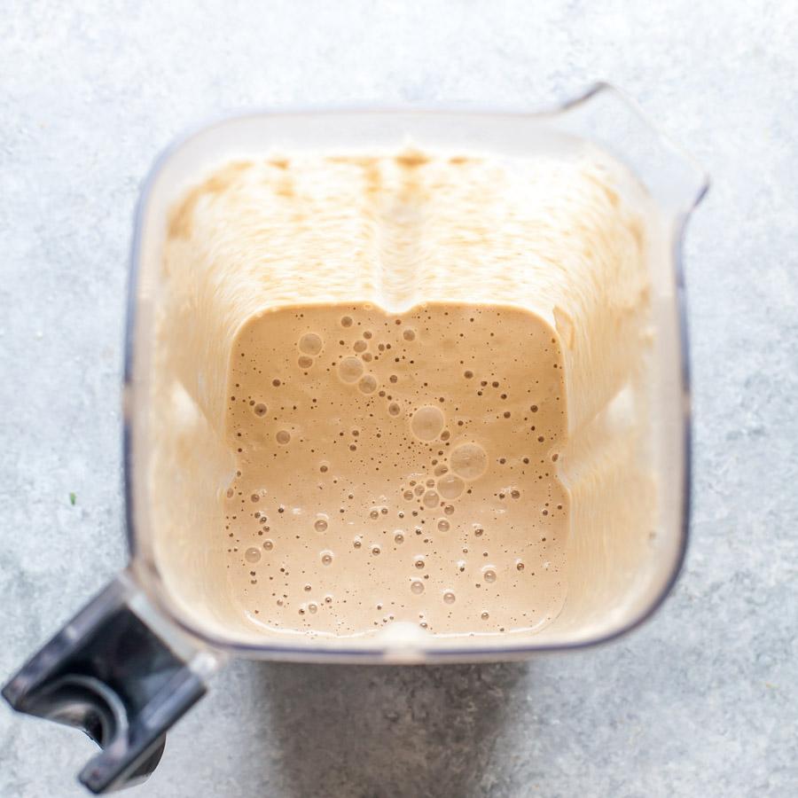 Blended Walnut-Rosemary Cream Sauce